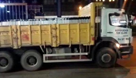 Hafriyat kamyonlarına rüşvet operasyonu: 10 polis tutuklandı!