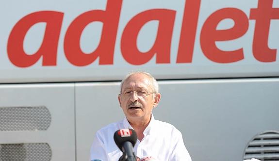 Kılıçdaroğlu, Adalet Yürüyüşü'nün 14. gününde