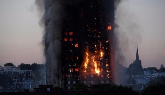 Londra'daki yangın faciasının nedeni belli oldu