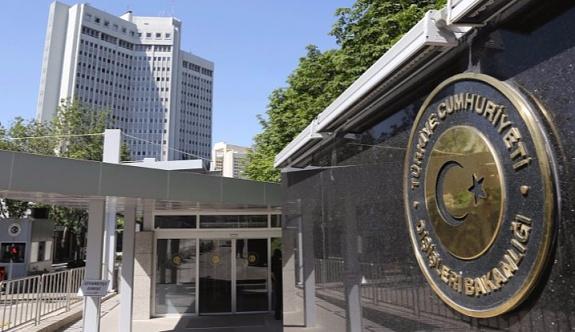 Dışişleri Bakanlığı'ndan Yunanistan'a kınama