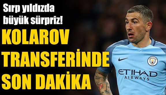 Kolarov transferinde büyük rakip!