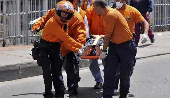 Kolombiya'da sirk tribünü çöktü: 37 yaralı