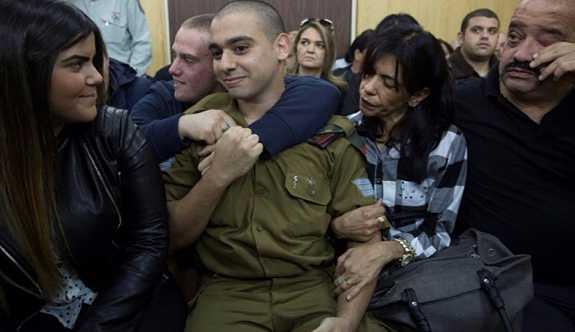Yaralı Filistinliyi öldüren İsrail askerinin temyiz talebi reddedildi