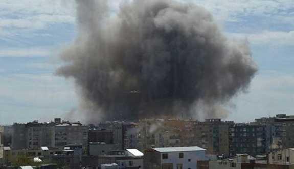 Hakkari Yüksekova'da Şiddetli patlama