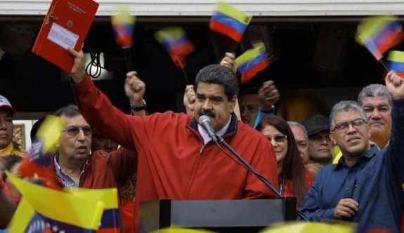 ABD, Venezuela'yı geri istiyor
