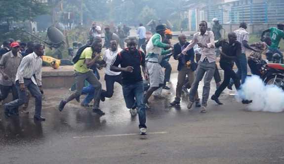 Kenya seçimleri kanlı bitti