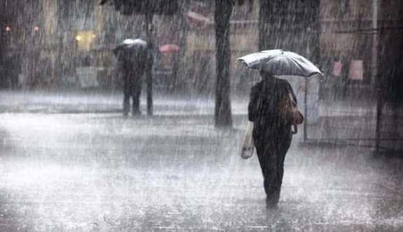 Meteoroloji 5 il için kuvvetli yağış uyarısı yaptı