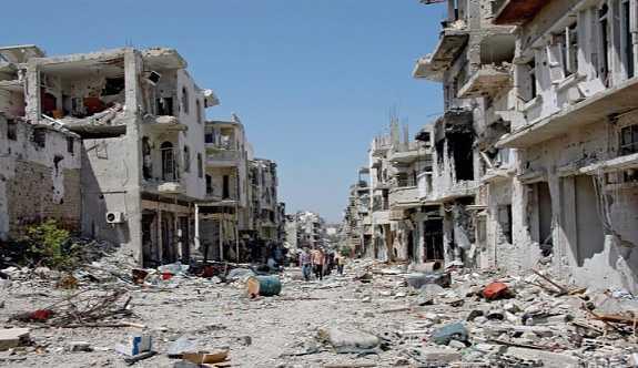 Rusya açıkladı: Humus'ta ateşkes