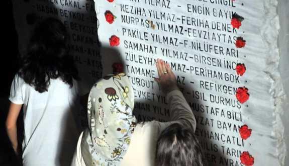 Yalova'da depremde yaşamını  yitirenler anıldı