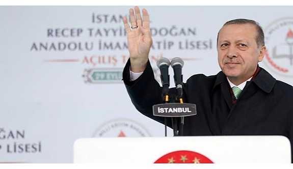 Erdoğan'dan 45 milyon liralık imam hatip lisesi açılışı