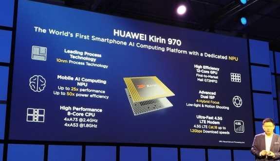 Huawei Kirin 970 resmen tanıtıldı!