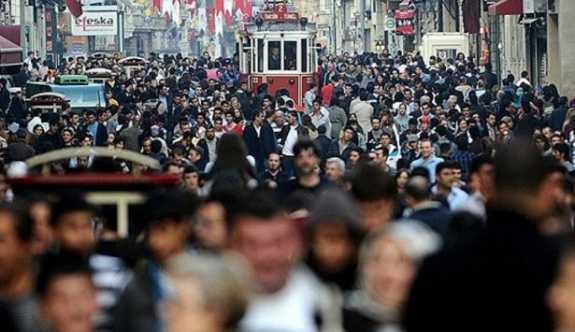 İstanbul nüfusu son 5 yılda 1 milyon kişi arttı