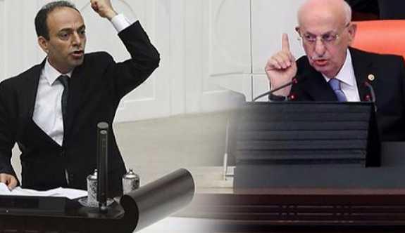 Meclis Başkanı ve HDP'li Baydemir tartıştı