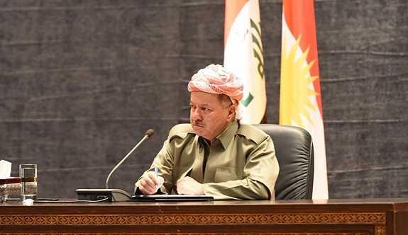 Mesud Barzani: Kerkük'ün istikrarını bozmaya çalışmalarına izin vermeyeceğiz
