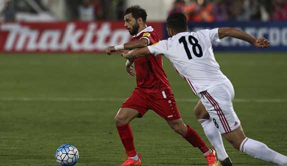 Suriye, Dünya Kupası elemelerinde play-off turuna kalmaya hak kazandı