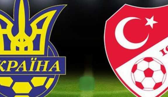 Ukrayna'da Büyük Hüsran. Türkiye Ukrayna'ya 2-0 mağlup oldu.