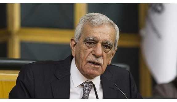 """Ahmet Türk; """"Ben ulusların kendi kaderini tayin etme hakkına inanan biriyim"""""""