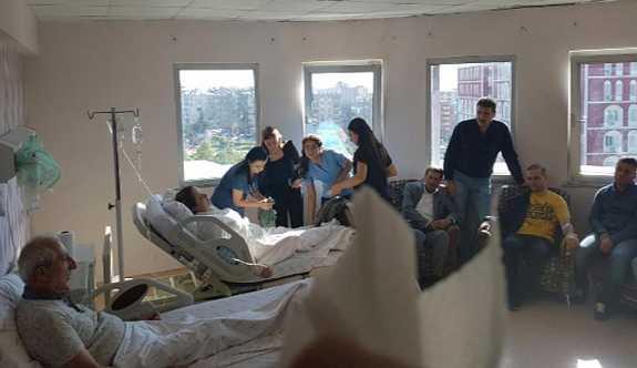 AK Parti Milletvekili Orhan Miroğlu ve eşi kaza geçirdi