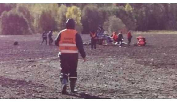 Avrupa Ralli Şampiyonası'nda helikopter düştü: Ölü ve yaralılar var