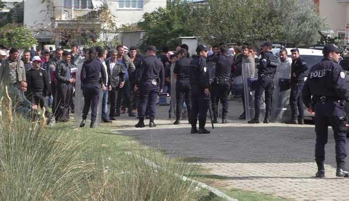 Aydın'da iki aile arasında çatışma