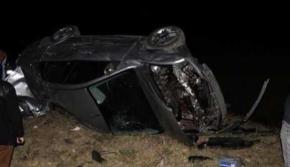 Çankırı'da Özel harekat polisleri kaza yaptı: 1 ölü, 3 yaralı