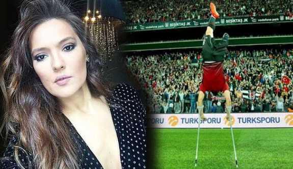 Demet Akalın'dan Ampute Futbol Milli Takımı'na 20 bin TL'lik jest