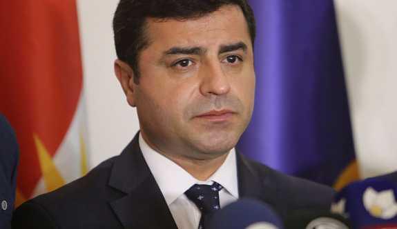 Selahattin Demirtaş'ın  suç duyurusu reddedildi.