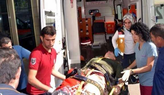 Siirt'te  patlama: 7 asker yaralı