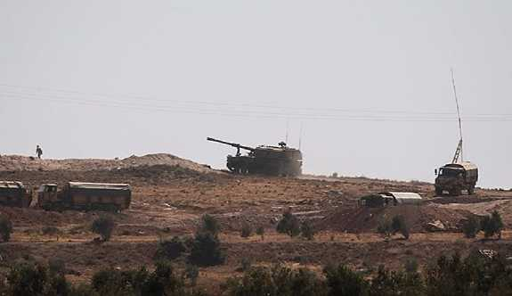TSK'dan İdlib'e top atışı
