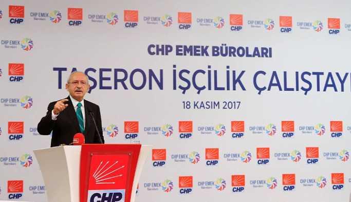 CHP'den, 'Taşeron İşçilik Çalıştayı'