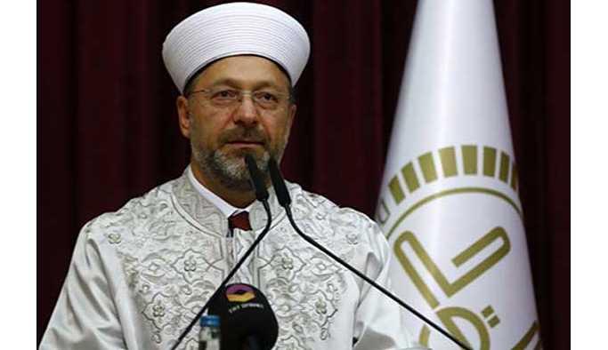 Diyanet İşleri Başkanı Erbaş'tan 'müftü nikahı' açıklaması
