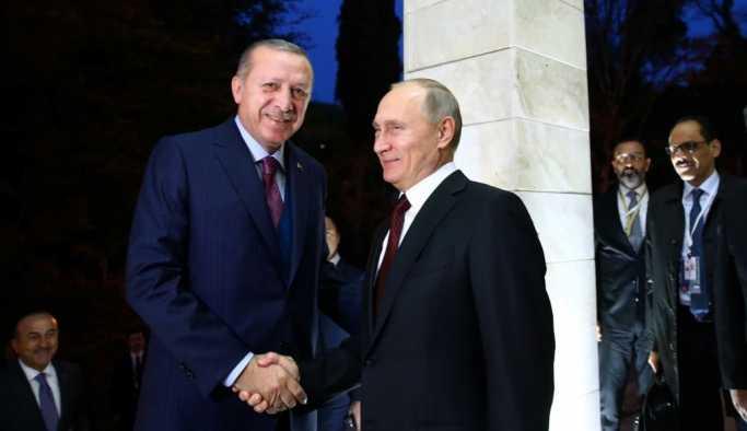 Erdoğan-Putin görüşmesi tamamlandı