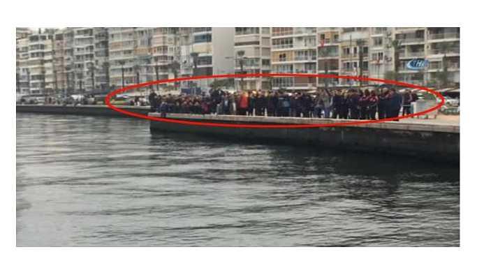 İzmir'de denizde erkek cesedi bulundu