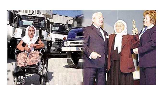 Kocası ölünce kamyon şoförlüğüne başladı,şimdi 300 milyon cirosu var
