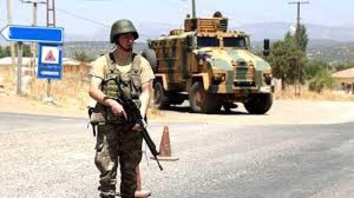 Silopi'de Zırhlı araca roketatarlı saldırı