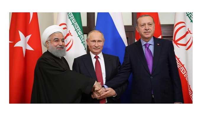 Soçi'deki kritik görüşme sona erdi; üç lider ortak açıklama yapıyor