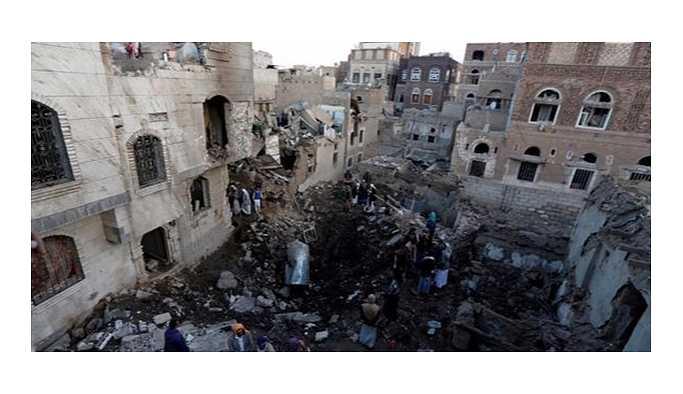 Suudi Arabistan uçakları Yemen'e hava saldırısı düzenledi