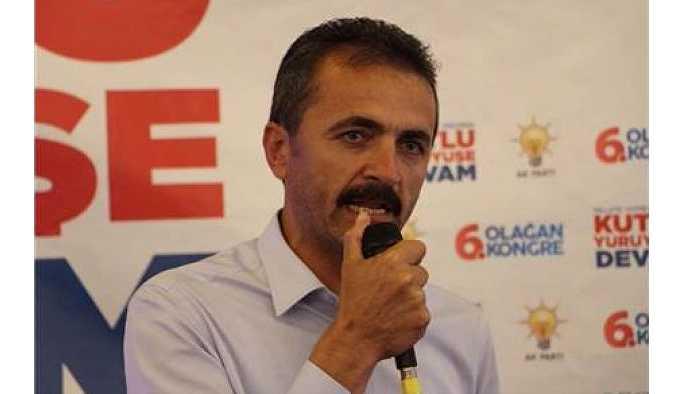 AKP Bolu İl Başkanı Nurettin Doğanay istifa etti.