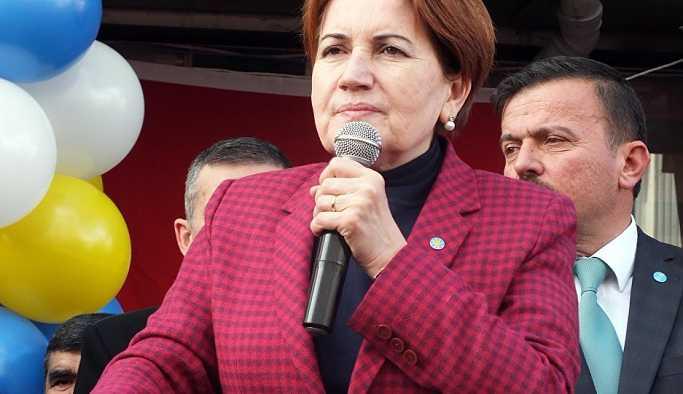 Akşener'den 'CHP ile ittifak' açıklaması