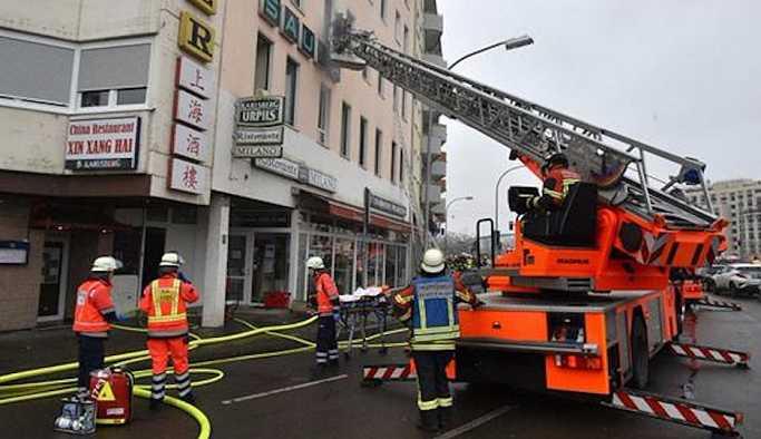 Almanya'da apartmanda yangın: 4 ölü, 23 yaralı