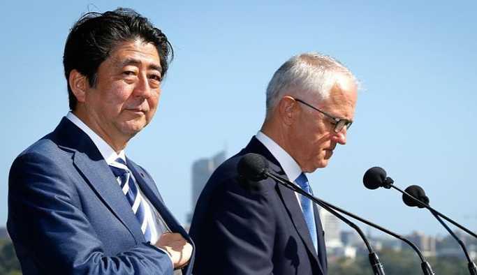Avustralya ve Japonya ortak ordu kuruyor!