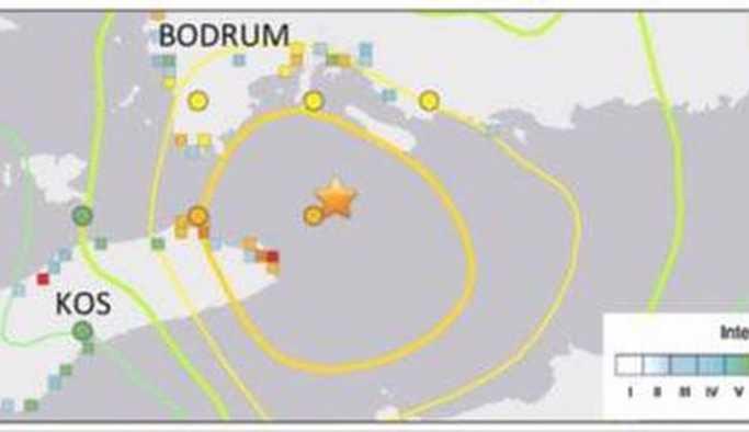 Bodrum'da deniz tabanı yarıldı