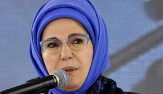 Emine Erdoğan: En büyük tehlike makamların sarhoşluğuna kapılmaktır