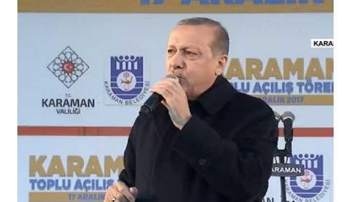 Erdoğan: Kim önümüze çıkarsa çıksın kusura bakmasın basar tekmeyi geçeriz