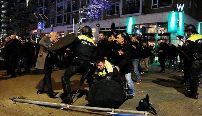 Hollanda'da Bakan Kaya'ya destek veren Türklere dava