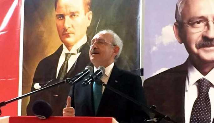 Kılıçdaroğlu; 'Her şeyin bir kişiye bağlandığı bir ülkede demokrasi olmaz'