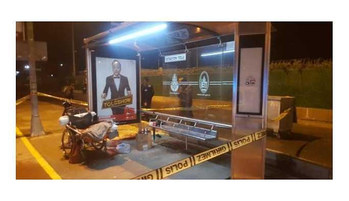 Maltepe'de tekerlekli sandalyedeki evsizi öldüren şahıs yakalandı