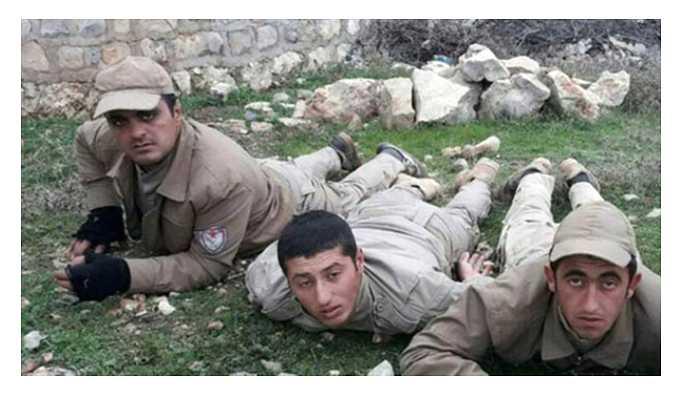 Afrin Operasyonun'da Yakalanan YPG'liler Türkiye'ye Getirildi