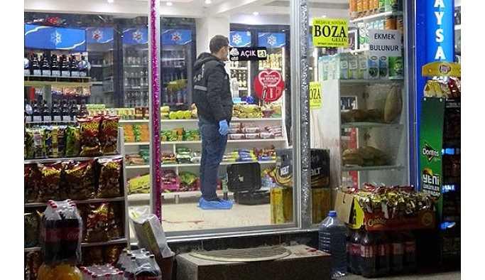 Eskişehir'de Markete silahlı saldırı