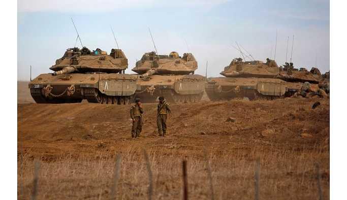 İsrail'in Suriye'nin güneyinde işgal planı